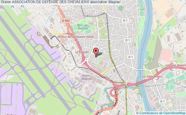 plan association Association De Defense Des Chevaliers
