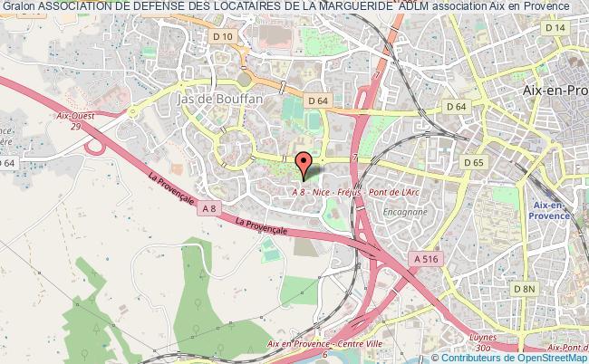 plan association Association De Defense Des Locataires De La Margueride  Adlm