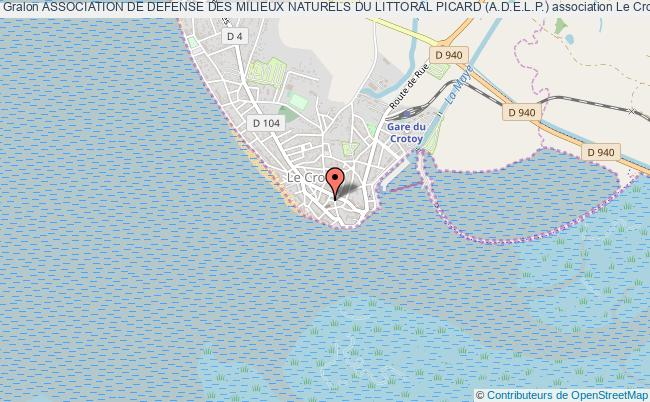 plan association Association De Defense Des Milieux Naturels Du Littoral Picard (a.d.e.l.p.)