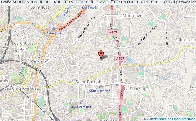 plan association Association De Defense Des Victimes De L'immobilier En Loueurs Meubles (advil) Marseille
