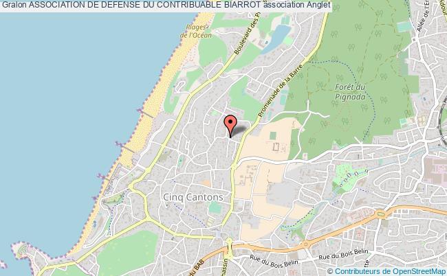 plan association Association De Defense Du Contribuable Biarrot