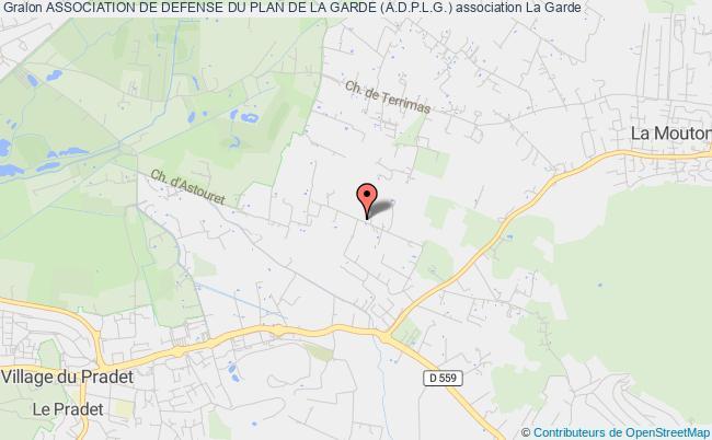 plan association Association De Defense Du Plan De La Garde (a.d.p.l.g.)