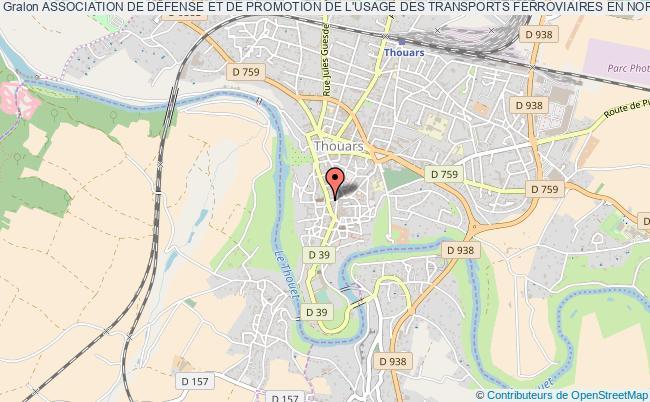 plan association Association De DÉfense Et De Promotion De L'usage Des Transports Ferroviaires En Nord Poitou