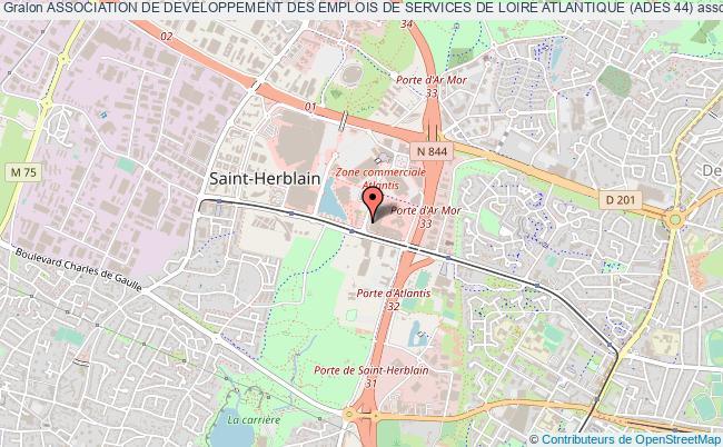 plan association Association De Developpement Des Emplois De Services De Loire Atlantique (ades 44)