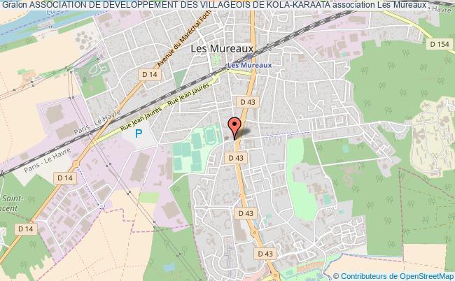 plan association Association De Developpement Des Villageois De Kola-karaata Les   Mureaux