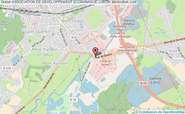 plan association Association De Developpement Economique Luron