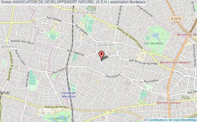 plan association Association De Developpement Naturel (a.d.n.)