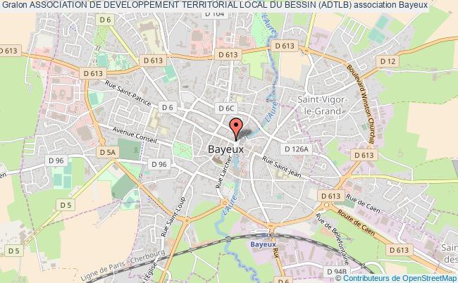 plan association Association De Developpement Territorial Local Du Bessin (adtlb) Bayeux