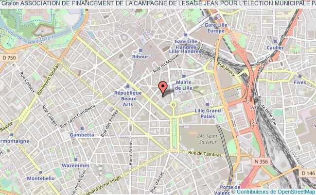 plan association Association De Financement De La Campagne De Lesage Jean Pour L'election Municipale Partielle Des 1er Et 8 Fevrier 2015 A Hautmont (afce Lesage Jean Municipale Partielle 2015) Lille