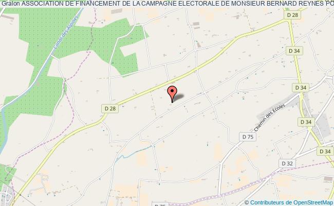 plan association Association De Financement De La Campagne Electorale De Monsieur Bernard Reynes Pour Les Elections Legislatives De 2012