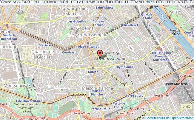 plan association Association De Financement De La Formation Politique Le Grand Paris Des Citoyens (afgpc)