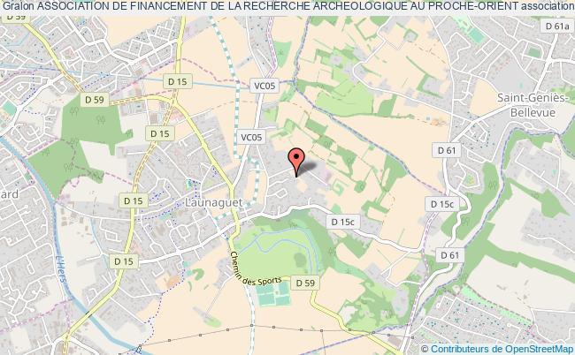 plan association Association De Financement De La Recherche Archeologique Au Proche-orient