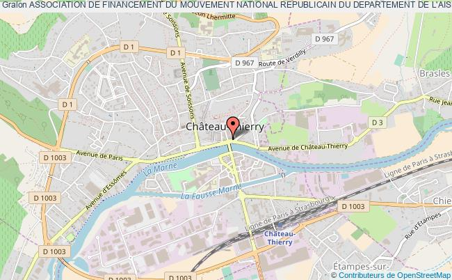 plan association Association De Financement Du Mouvement National Republicain Du Departement De L'aisne