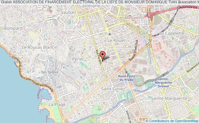 plan association Association De Financement Electoral De La Liste De Monsieur Dominique Tian Marseille