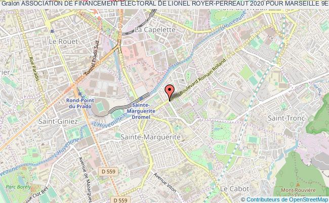 plan association Association De Financement Electoral De Lionel Royer-perreaut 2020 Pour Marseille 9eme Et 10eme Arrondissements (circonscription Electorale) Marseille