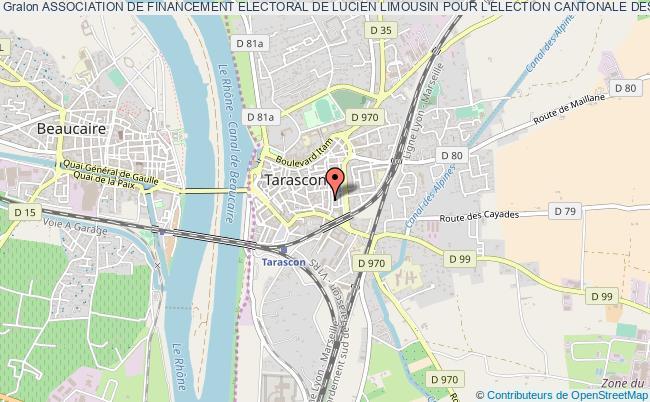 plan association Association De Financement Electoral De Lucien Limousin Pour L'election Cantonale Des 20 Et 27 Mars 2011 - Afell