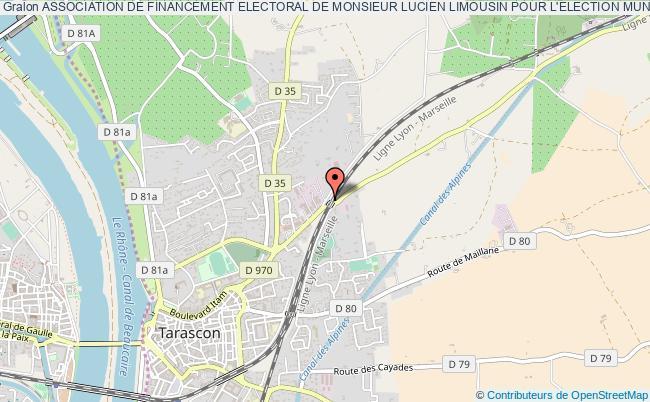 plan association Association De Financement Electoral De Monsieur Lucien Limousin Pour L'election Municipale 1er Et 2Ème Tour De Mars 2014