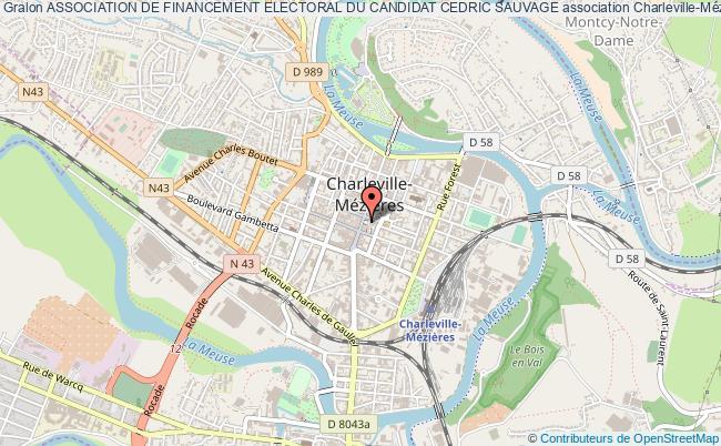plan association Association De Financement Electoral Du Candidat Cedric Sauvage