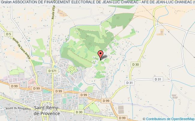 plan association Association De Financement Electorale De Jean-luc Chaneac - Afe De Jean-luc Chaneac (cantonales 2011)