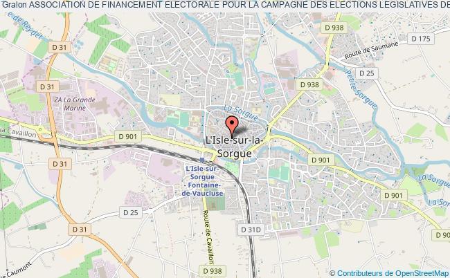 plan association Association De Financement Electorale Pour La Campagne Des Elections Legislatives De Monsieur Michel  Fuillet Des 10 Et 17 Juin 2012