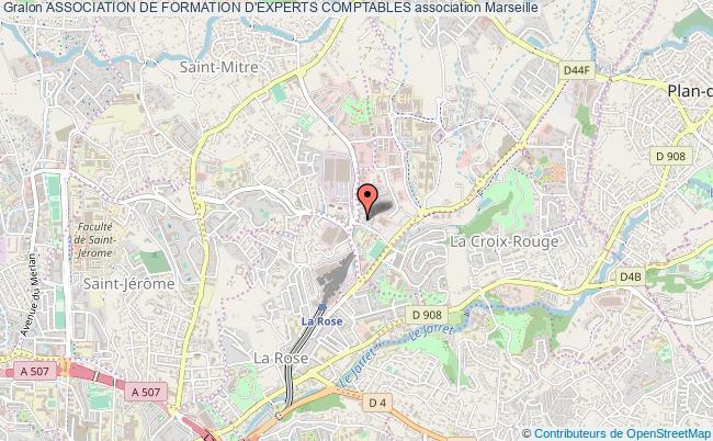 plan association Association De Formation D'experts Comptables Marseille