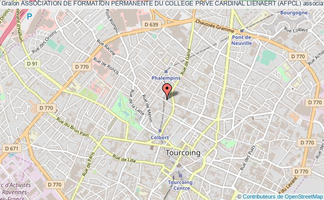 plan association Association De Formation Permanente Du College Prive Cardinal Lienaert (afpcl)