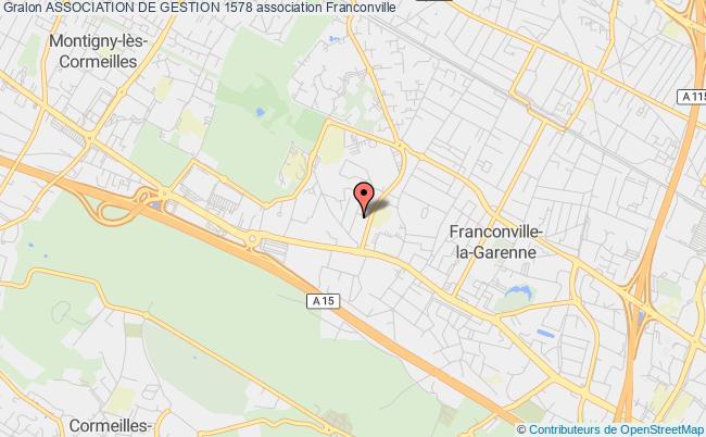 plan association Association De Gestion 1578 Franconville