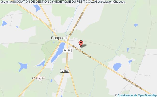 plan association Association De Gestion Cynegetique Du Petit Couzai