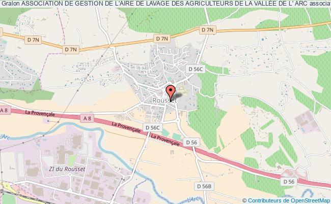 plan association Association De Gestion De L'aire De Lavage Des Agriculteurs De La VallÉe De L' Arc