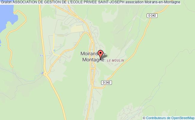 plan association Association De Gestion De L'ecole Privee Saint-joseph
