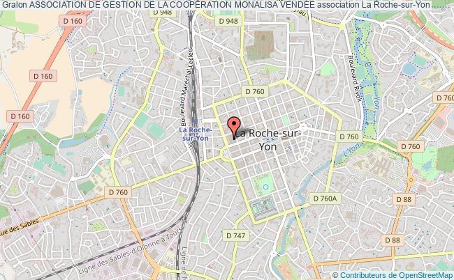 plan association Association De Gestion De La CoopÉration Monalisa VendÉe Roche-sur-Yon