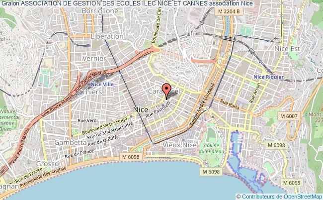 plan association Association De Gestion Des Ecoles Ilec Nice Et Cannes