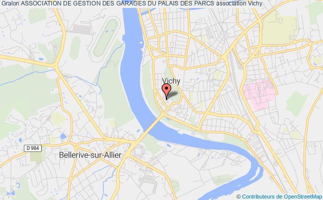 plan association Association De Gestion Des Garages Du Palais Des Parcs