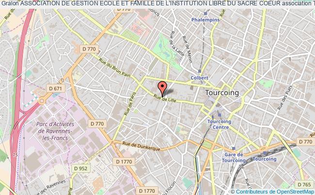 plan association Association De Gestion Ecole Et Famille De L'institution Libre Du Sacre Coeur