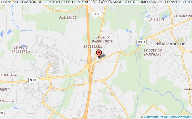 plan association Association De Gestion Et De Comptabilite Cer France Centre Limousin (cer France Centre Limousin)