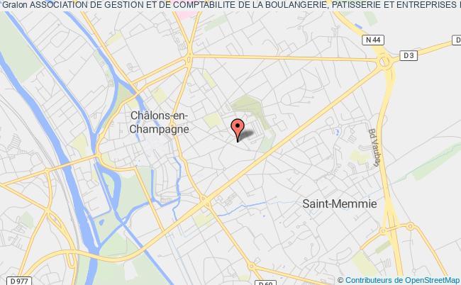 plan association Association De Gestion Et De Comptabilite De La Boulangerie, Patisserie Et Entreprises De Champagne-ardenne