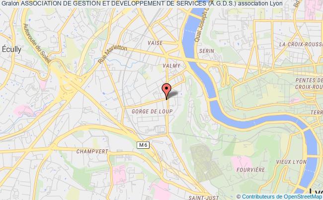 plan association Association De Gestion Et Developpement De Services (a.g.d.s.)