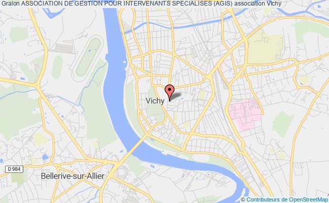 plan association Association De Gestion Pour Intervenants Specialises (agis)