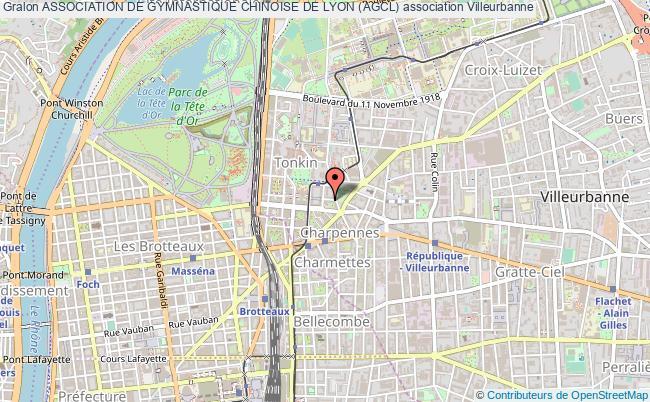 plan association Association De Gymnastique Chinoise De Lyon (agcl)