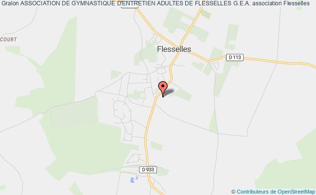plan association Association De Gymnastique D'entretien Adultes De Flesselles G.e.a.