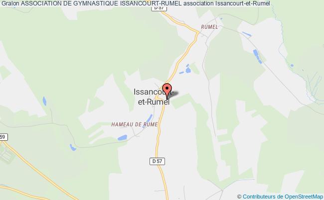 plan association Association De Gymnastique Issancourt-rumel