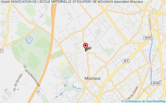 plan association Association De L'ecole Maternelle St Exupery De Mouvaux