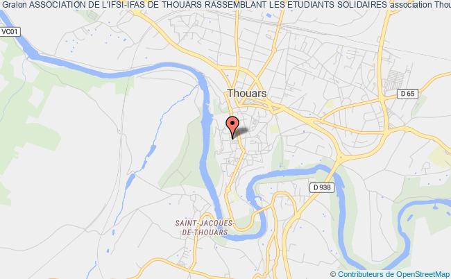 plan association Association De L'ifsi-ifas De Thouars Rassemblant Les Etudiants Solidaires