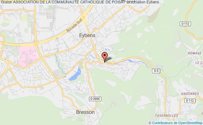 plan association Association De La Communaute Catholique De Poisat