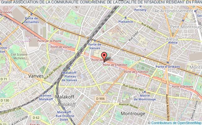 plan association Association De La Communaute Comorienne De La Localite De Ntsadjeni Residant En France (accnf) Malakoff