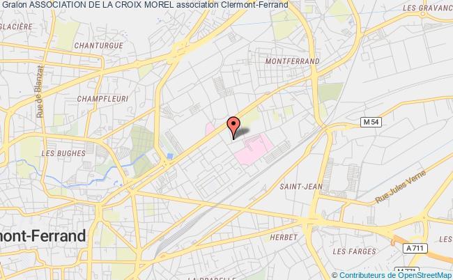 plan association Association De La Croix Morel
