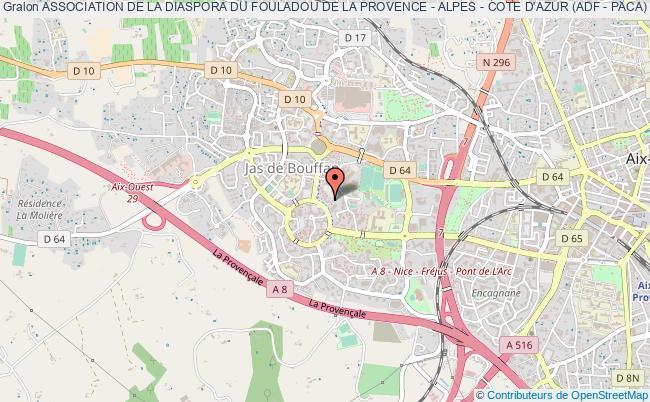 plan association Association De La Diaspora Du Fouladou De La Provence - Alpes - Cote D'azur (adf - Paca)