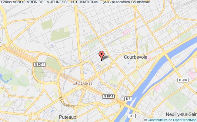 plan association Association De La Jeunesse Internationale (aji) Courbevoie