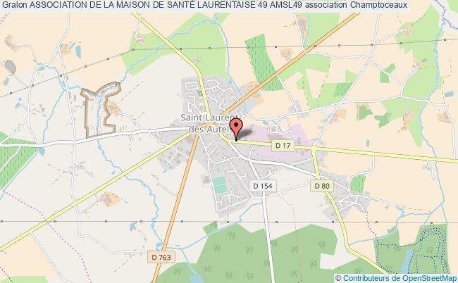 plan association Association De La Maison De SantÉ Laurentaise 49 Amsl49