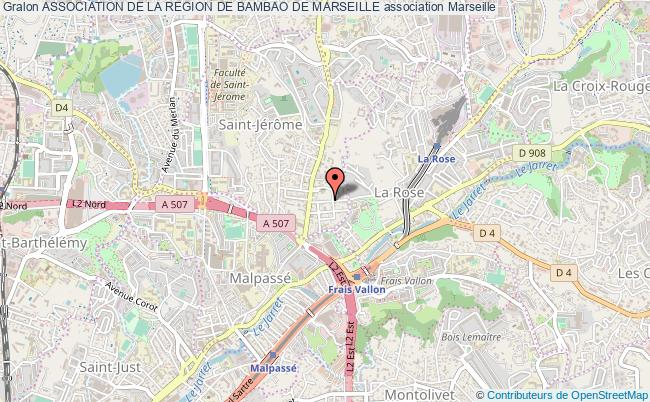 plan association Association De La Region De Bambao De Marseille
